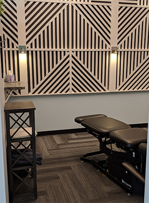 Chiropractic Millard NE Adjustment Area