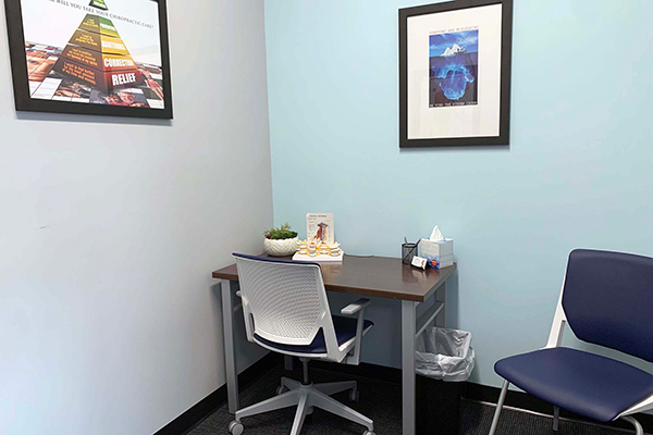 Chiropractor Elkhorn NE Office Desk